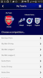 Sky Sports Live Football SC- screenshot thumbnail
