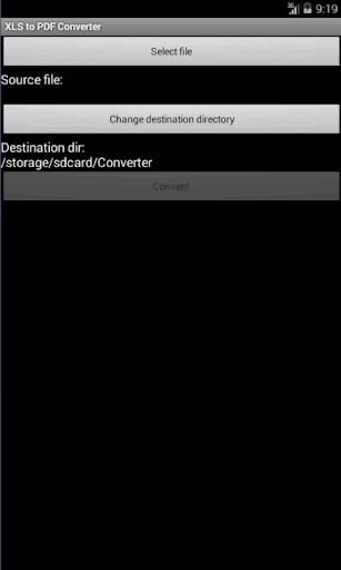 XLS to PDF Converter