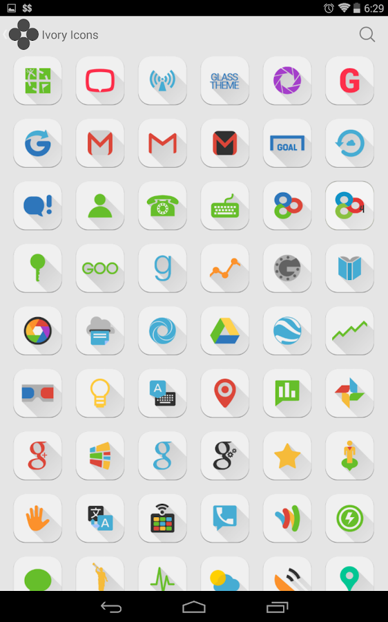 Ivory - Icon Pack- screenshot