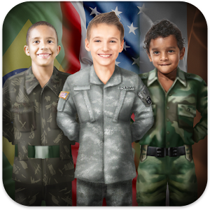 Military Photo Dress Icon
