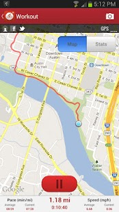 MapMyRide GPS Cycling Riding - screenshot thumbnail