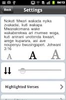 Screenshot of Shona Bible