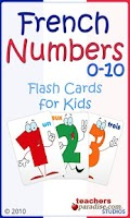 Screenshot of French Numbers 0-10 for Kids