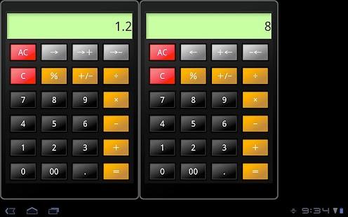 Calc2.0 for tablet- screenshot thumbnail