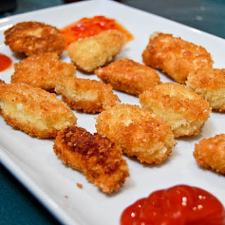 Home Made Chicken Nuggets.