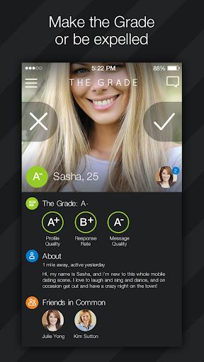 The Grade Dating App