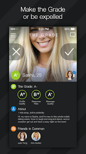 The Grade Dating App- screenshot thumbnail
