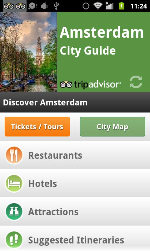 Amsterdam City Guide screenshot #1