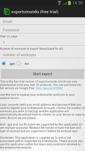 exportomondo free trial