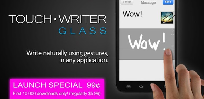 Touch Writer GLASS v1.3.3