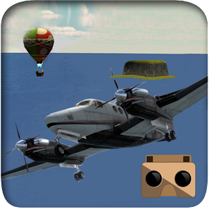 VR Airplane Flight Simulation for PC and MAC