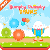 Humpty Dumpty Musical Drums