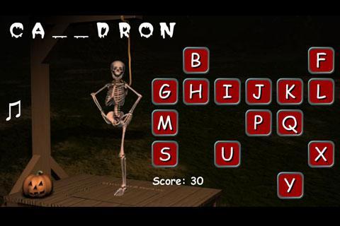 Halloween Hangman- screenshot