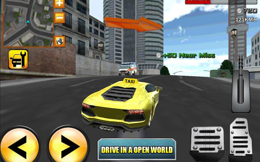 瘋狂出租車司機3D責任 taxi 3d simulator