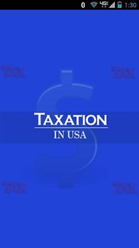 Taxation USA : Income Tax Calc