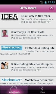 iDate Dating Industry News- screenshot thumbnail