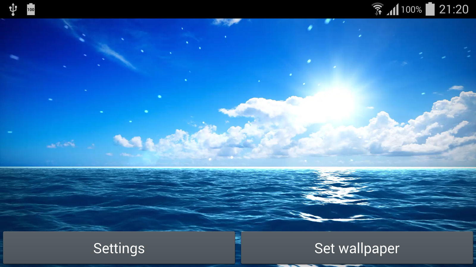 blue ocean live wallpaper free android apps on google play