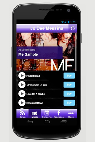 【免費音樂App】Jo Dee Messina-APP點子