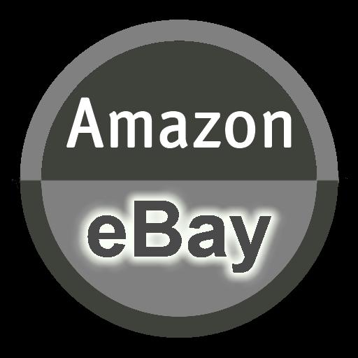 商业のアマゾンイーベイ電卓米国/英国 LOGO-記事Game