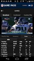 Screenshot of NFL Game Pass