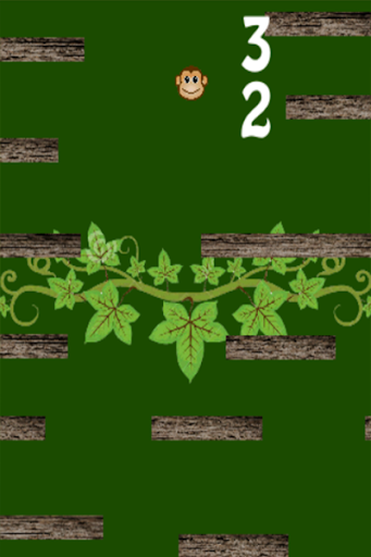Monkey in Forest 2D