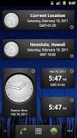Screenshot of Perfect World Clock