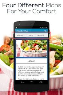 Paleo Diet Plan - screenshot thumbnail