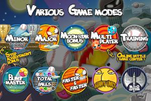 Screenshot of Flick Home Run! baseball game