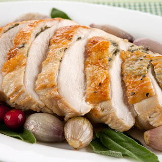 Brined Turkey Breast with Sage