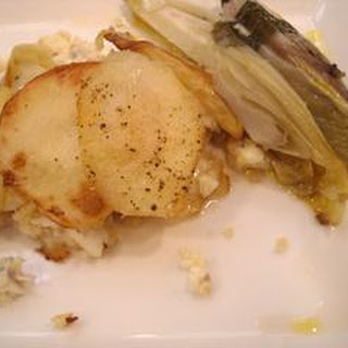 Hake And Potato Bake With Chicory.