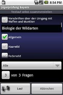 German Hunter's Exam Training - screenshot thumbnail