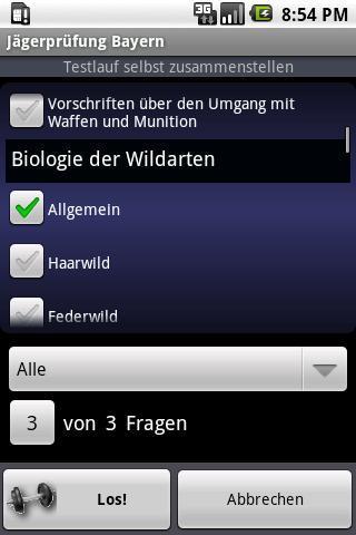 German Hunter's Exam Training - screenshot