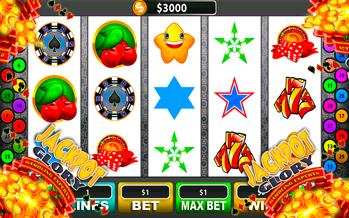 how to play online casino power star