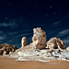 Cosmic of white desert by Ahmed Yousry - Landscapes Deserts