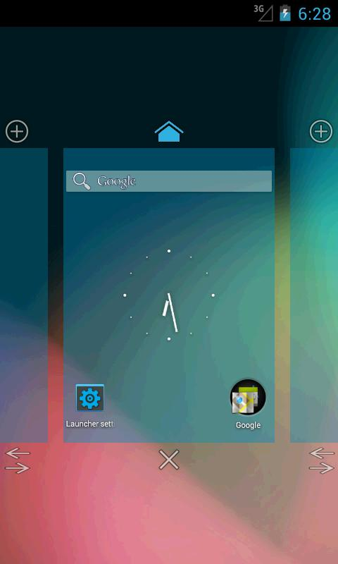 Holo Launcher HD - screenshot