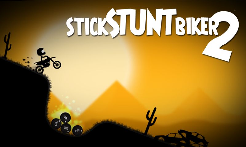 Stick Stunt Biker 2- screenshot