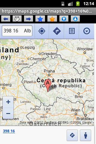 ZIP code Czech and Slovak - screenshot
