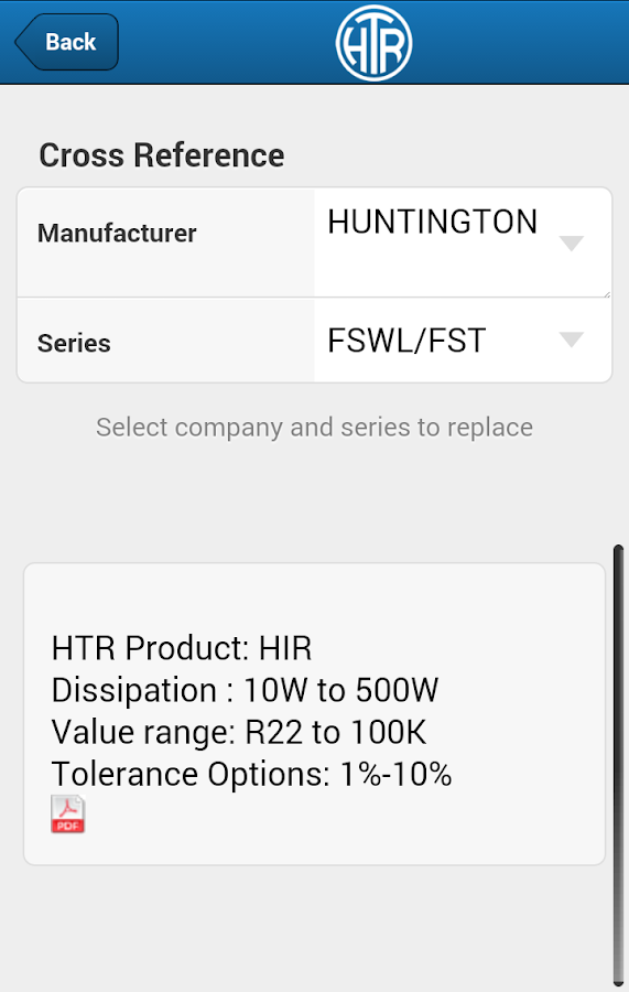 HTR Resistor Finder- screenshot