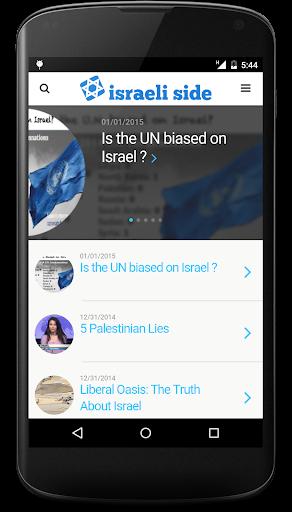 Israeli Side