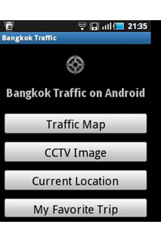 Bangkok Traffic on Android - screenshot