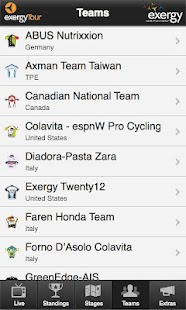 Exergy Tour Tracker - screenshot thumbnail