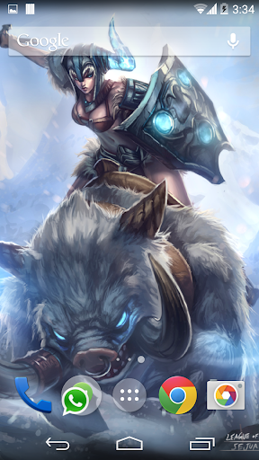 League Of Legends - Sejuani LW