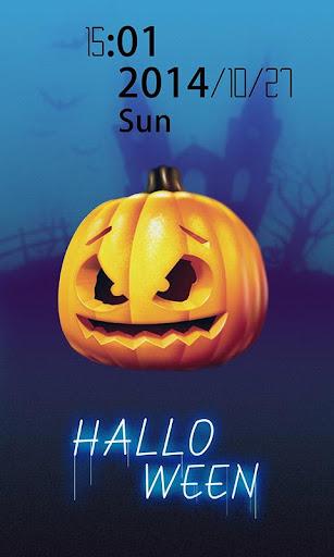 Horror pumpkin head