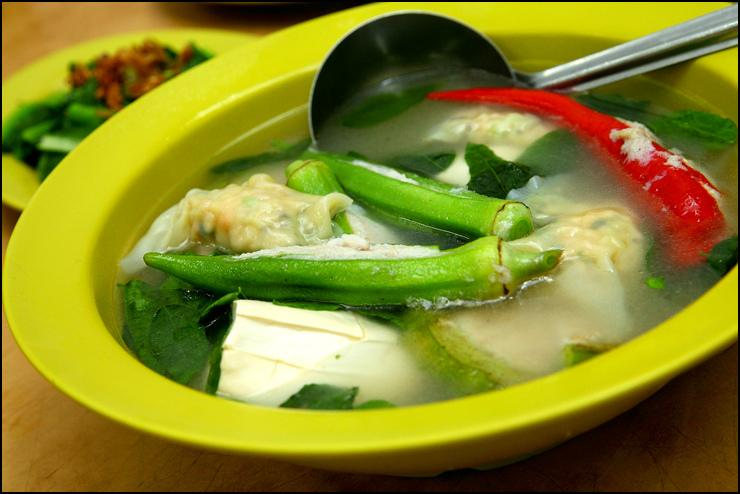 Soup Yong Tau Fu At Restoran Yong Tau Foo Chan Chan Malaysia Food