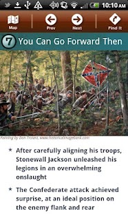 Chancellorsville Battle App- screenshot thumbnail