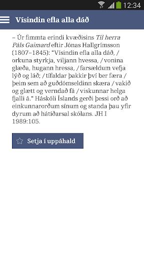Orð í tíma töluð