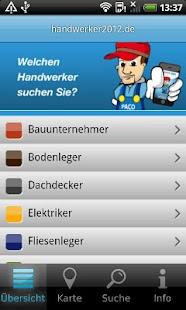 Handwerker App- screenshot thumbnail