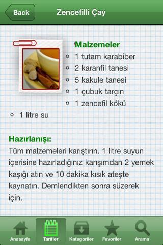 Doğal Çay Rehberi- screenshot