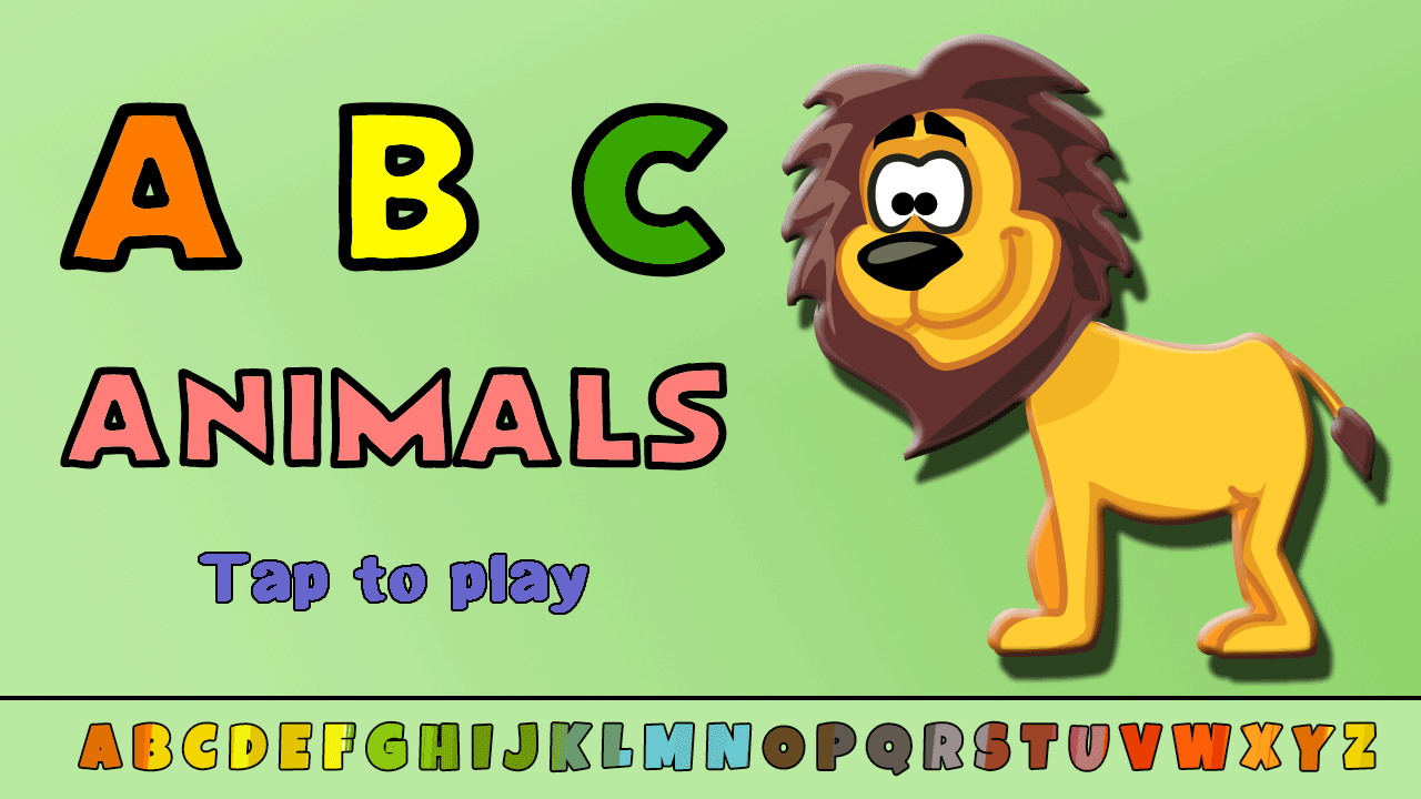 abc animal flashcards free android apps on google play