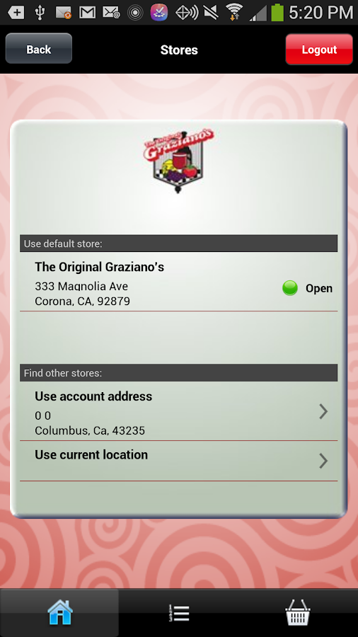 The Original Graziano's Corona- screenshot